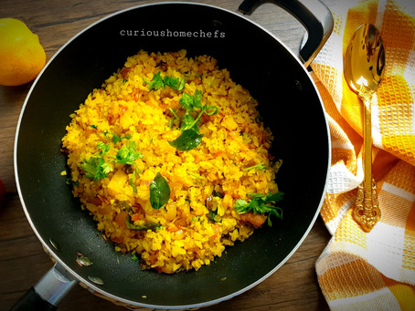 One Pot Poha | Kanda Batata Poha | Indian Breakfast