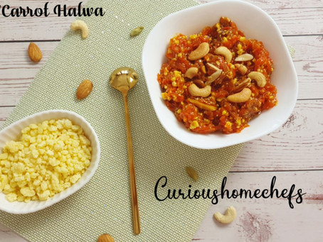 Gajar/Carrot Halwa | One Pan Dish