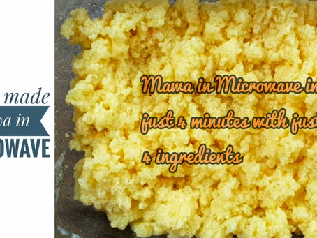 Mawa in Microwave | Mawa in 4 minutes