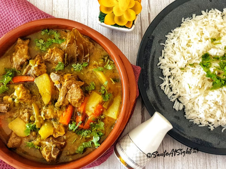 East Indian Mutton Stew | Mutton Stew