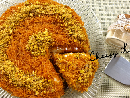 Homemade Vermicelli Kunafa | Cheesy Kunafa | Easy Kunafa Recipe
