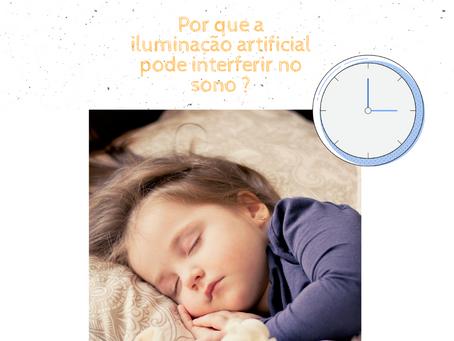 Por que a iluminação artificial pode afetar o sono?