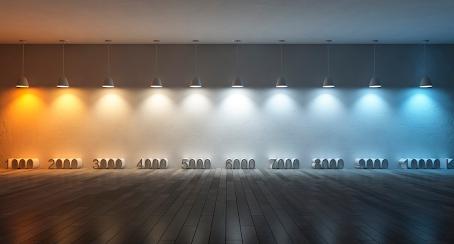 Luz Fria, Luz Neutra, Luz Quente. Qual é a melhor?