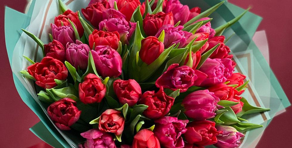Пионовидные Тюльпаны на Ваш Выбор