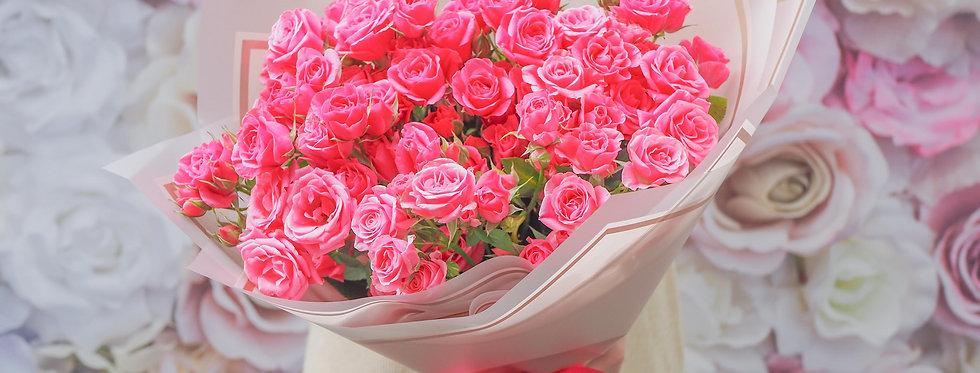 Кокетливые розы