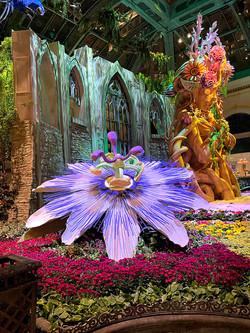 Passion Flower sculpture at The Bellagio Casino