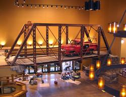 Bridge Replica for Cabela's retail stores