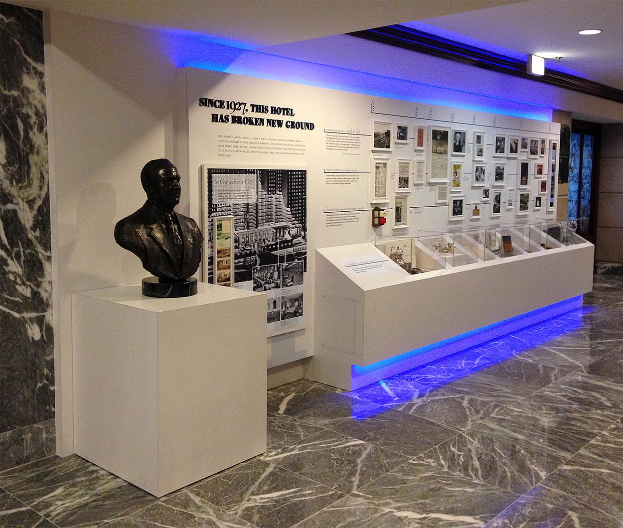 Hilton Historical Exhibit