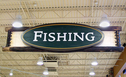 Department Signs, Cabela's Retail Stores
