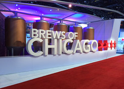 Brews of Chicago Trade Show Exhibit