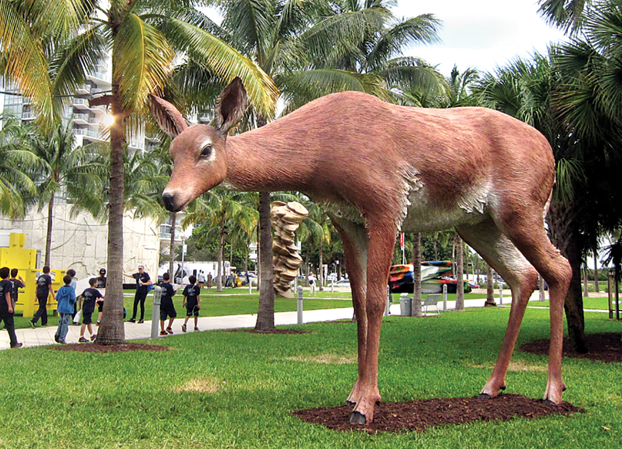 Large Doe Sculpture