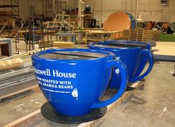 Maxwell House Coffee Cups, Bullseye Marketing, Nationwide Campaign