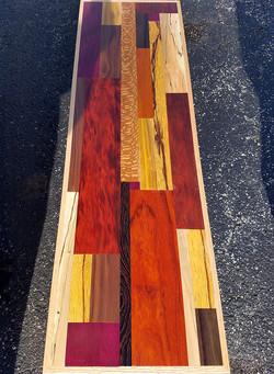 Custom Wood Mosaic Table Top