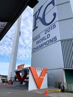 Vizzy Bar at Kauffman Stadium
