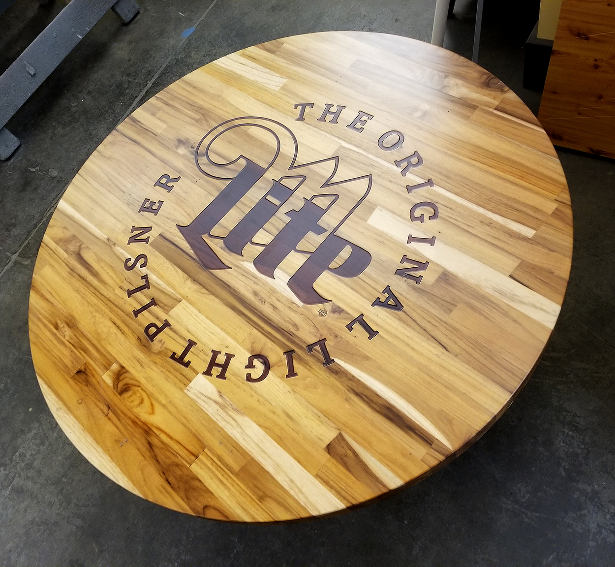 Custom Engraved Tables