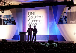 Intel Solutions Summit Stage