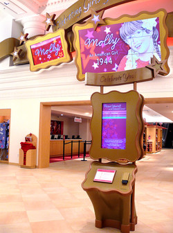 Interactive Kiosk for The American Girl Store, Chicago