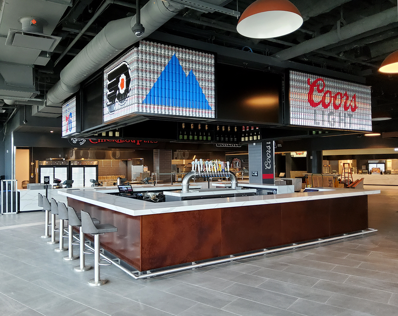 Coors Light Bar