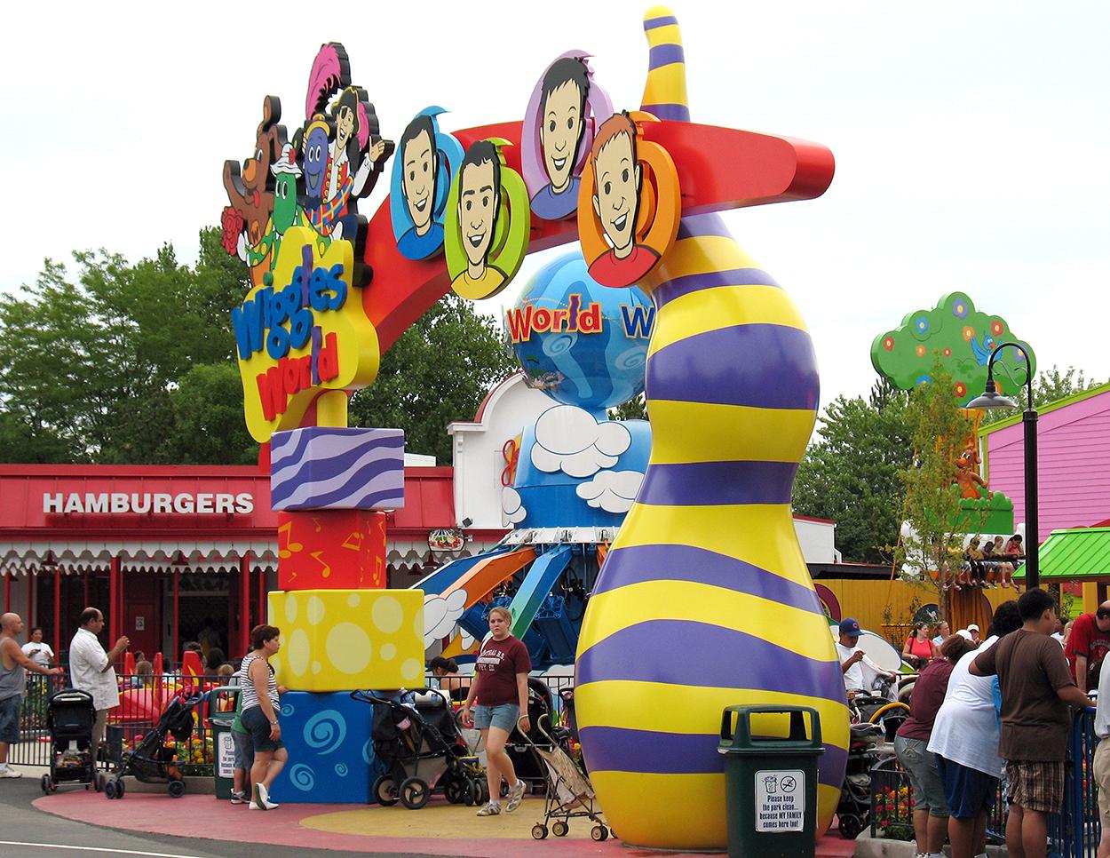 Wiggles World, Six Flags Great America