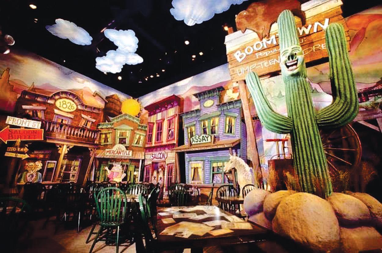 Crazy Buffalo Saloon, Six Flags Great America