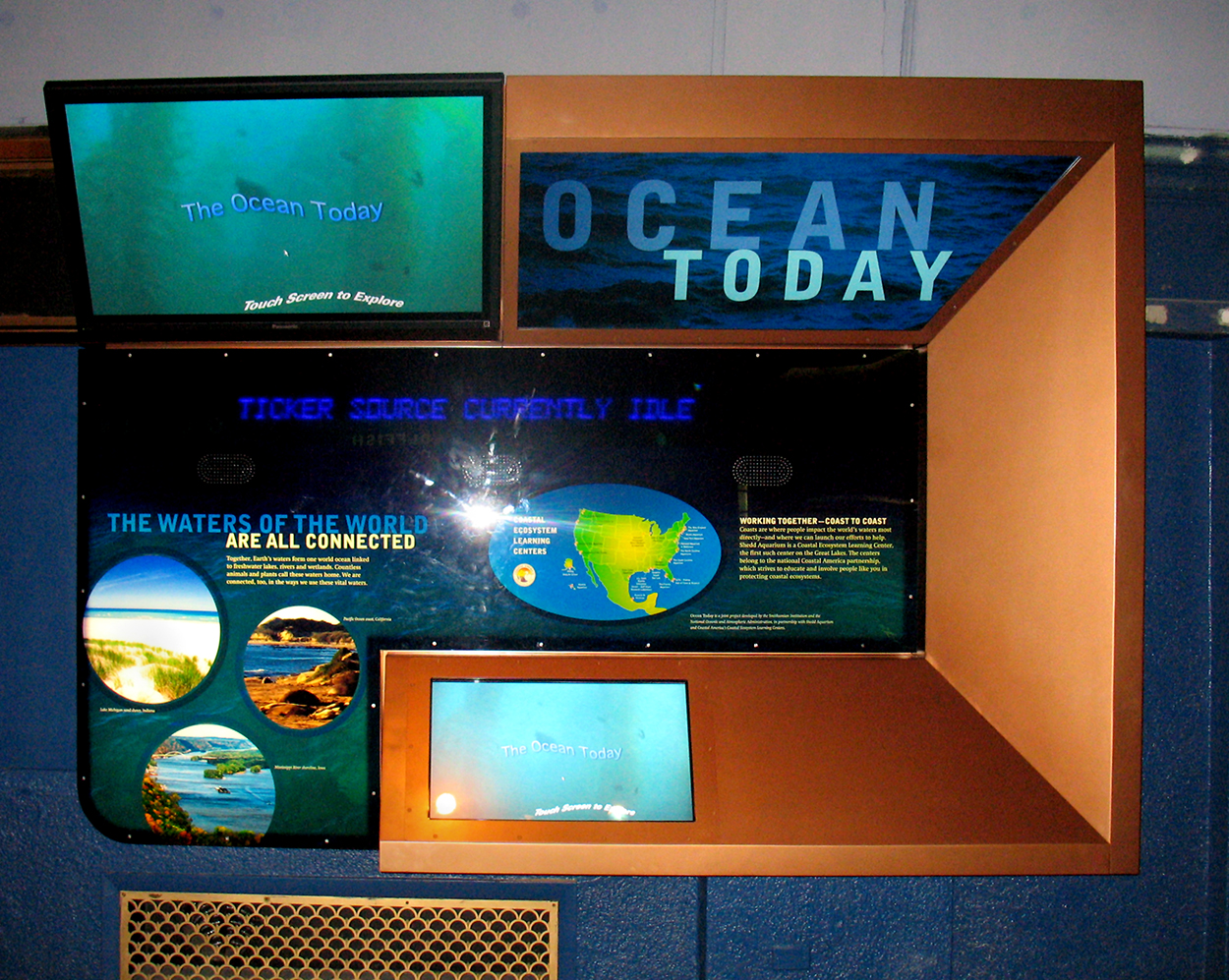 Shedd Aquarium, Ocean Kiosk