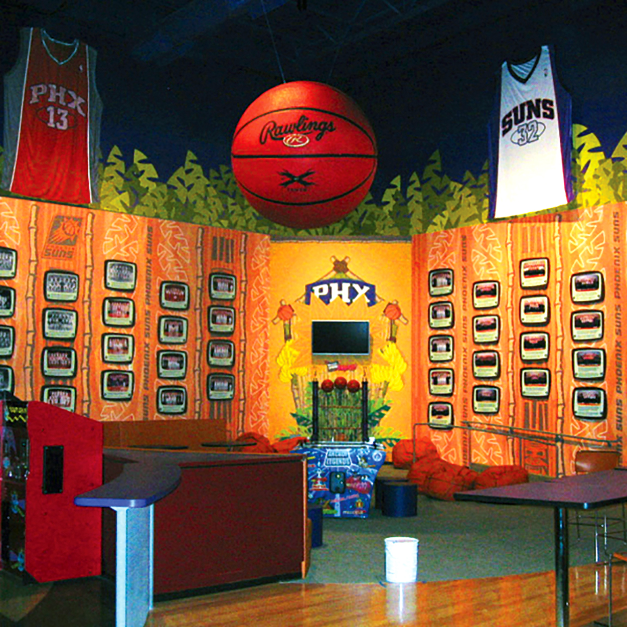 Gorilla House for the Phoenix Suns