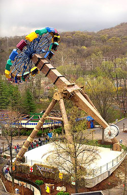 Six Flags St. Louis, Ride Theming