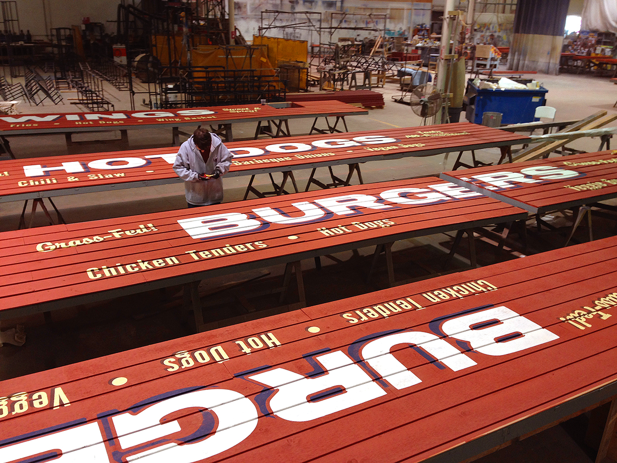 Concession Signs, Durham Bulls