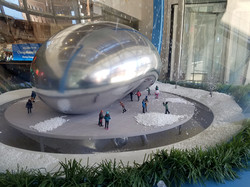 The Bean Snow Globe
