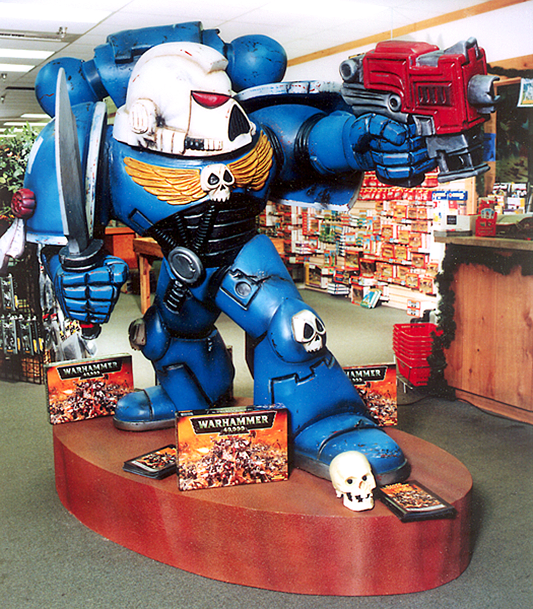 Space Marine Sculpture