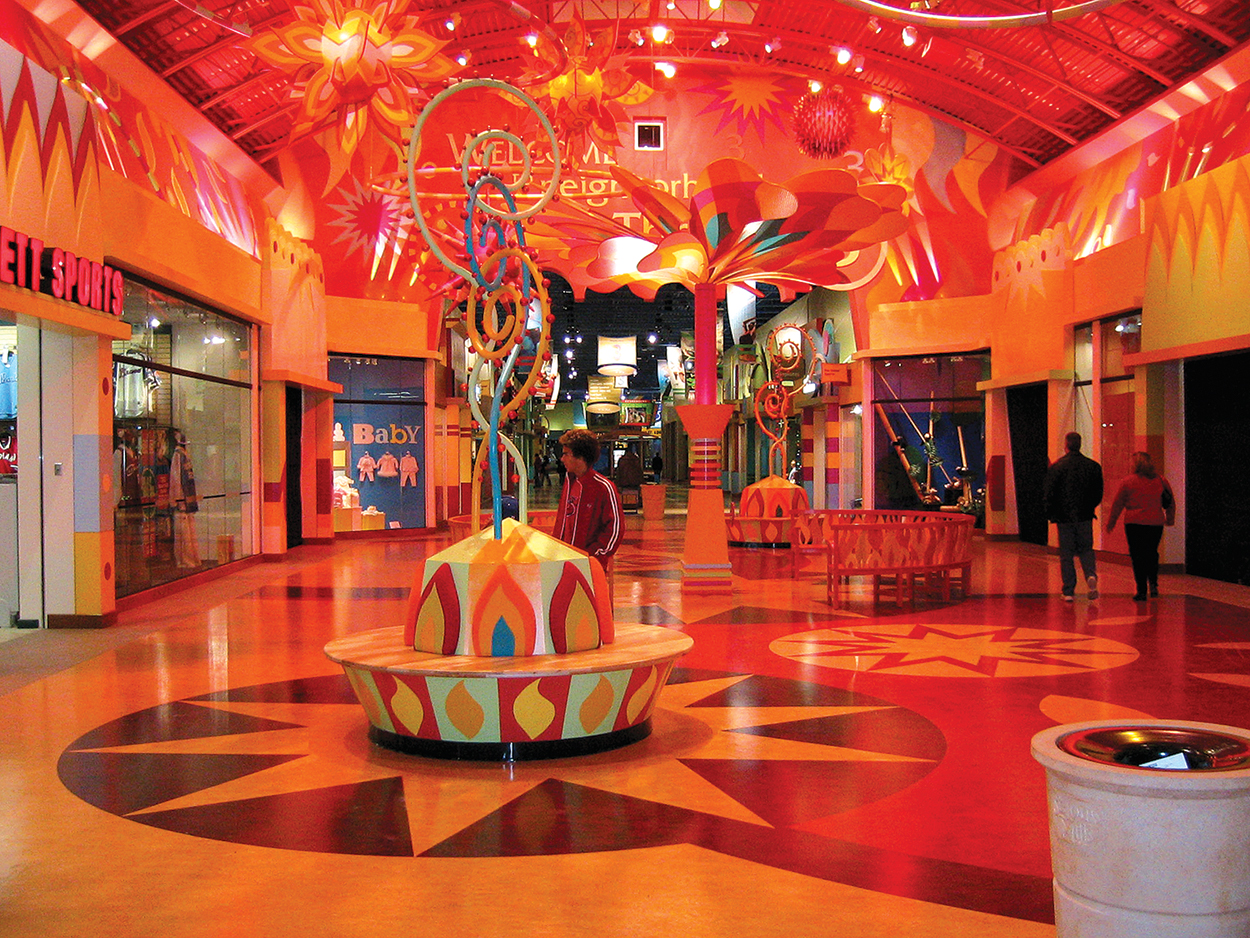 Mills Mall, Circus of Fire