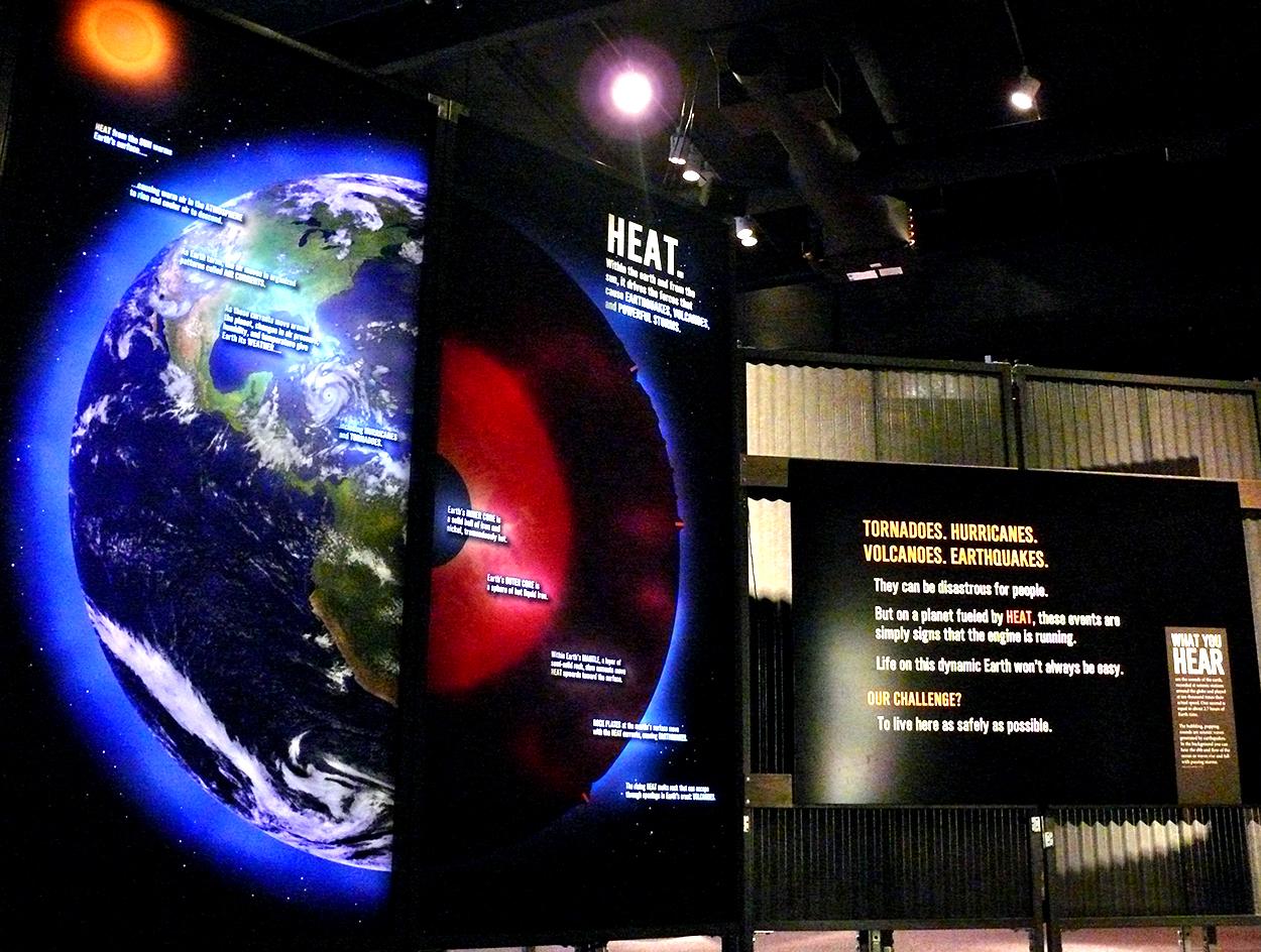 Earth 101 Exhibit, MSI