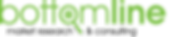 Bottom Line Market Research Logo