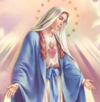 La Vierge-Marie  Mère de l'humanité