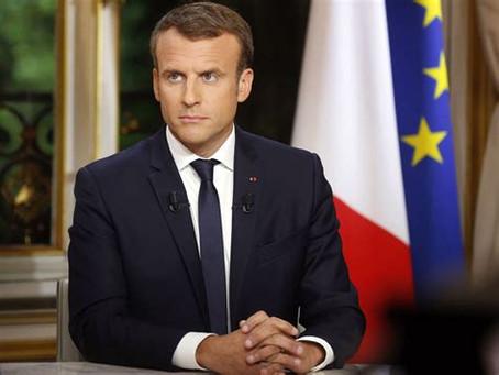 Macron haï, Macron conspué