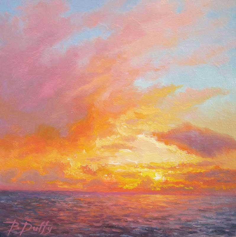 BDuffy-Kaleidoscope-Sunset,-Oil,-6'-x-6',-By-B.-Duffy