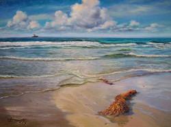 BDuffy-Blustery-Beach,-Oil,-9'x12'-Morning