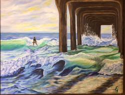Elke Goodno-Lone Surfer