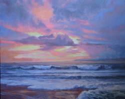 Fenton, Winter Sunset