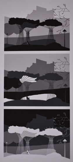 The Getty in Five Shades of Gray