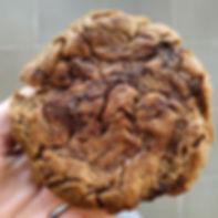 עוגיית חמאת בוטנים, כוסמין ושוקולד צ'יפס