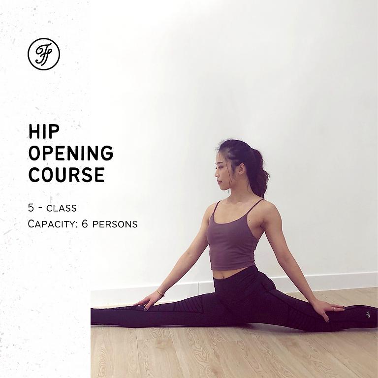 5-Class Hip Opening / Jun