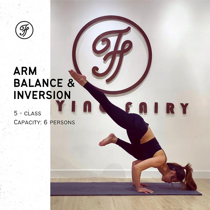 5-Class Arm Balance & Inversion / May
