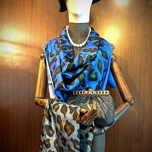 An-Nee Leopard scarf