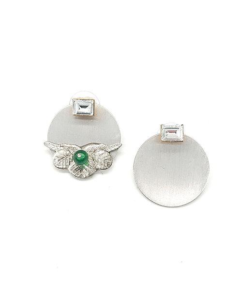 Old pine leaf earrings