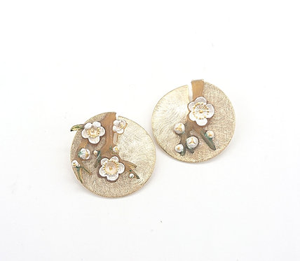 Kyoto cherry blossom earrings