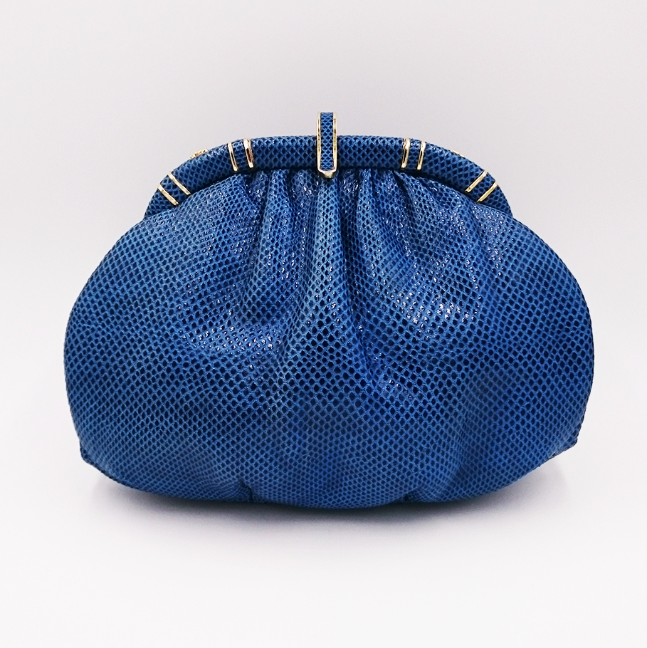 Blue Leiber bag