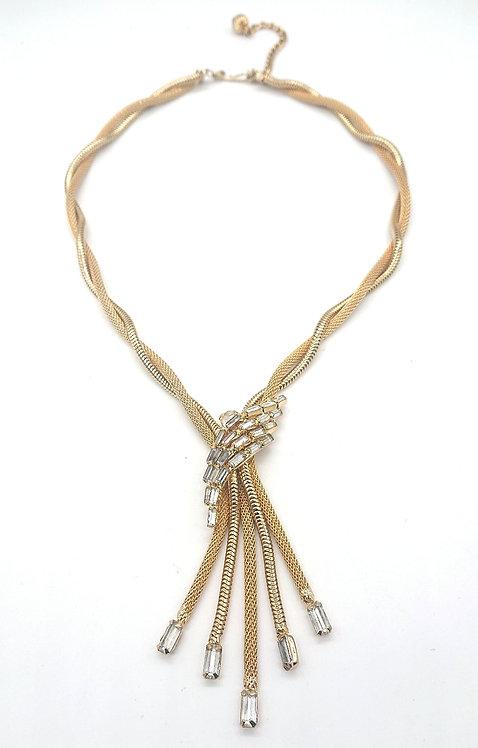 Beautiful mesh necklace