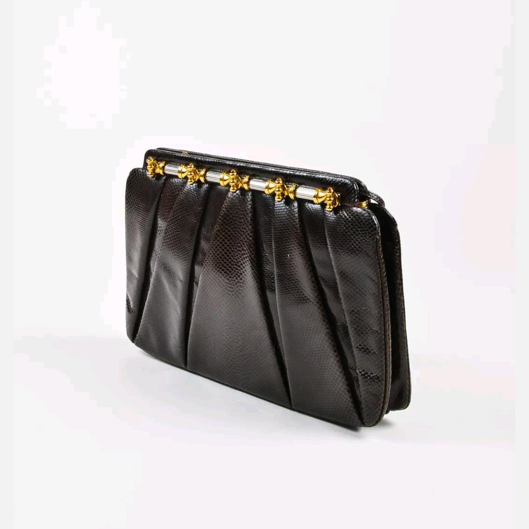 Dark brown Leiber bag