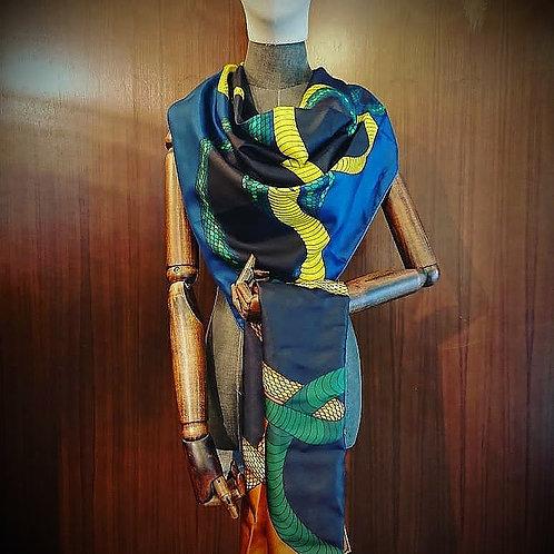 An-Nee Cobra scarf